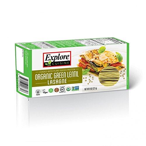 Explore Cuisine Organic Green Lentil Lasagne 250g (Pack of 4)