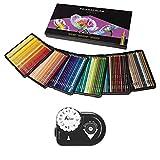 Prismacolor Colored Pencils Art Kit – Artist Premier Wooden Soft Core Pencils 150 ct. With Acurit Dial-a-Point Pencil Sharpener [151 pc. Set]