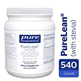 Pure Encapsulations - PureLean (with Stevia) - Vegetarian Protein for Healthy Weight Management** - Vanilla Bean Flavor - 540 Grams