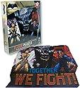 Batman Vs Superman Comic Book Theme Illustrated 46 Piece Floor Puzzle - Ages 3+