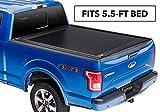 RetraxONE MX Retractable Truck Bed Tonneau Cover | 60373 | fits F-150 Super Crew & Super Cab 5.5' Bed (15-18)