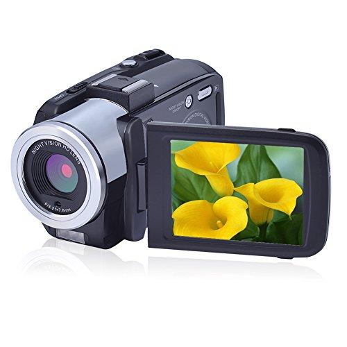 Underwater Camera Full Hd 1080P Waterproof Digital Camera 24.0MP Underwater Digital Camera Self Point and Shoot Dual Screen Waterproof Camera …