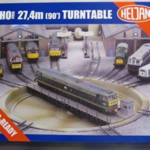 Heljan 89121 HO SCALE 27.4M (90) DCC TURNTABLE (80 in OO Gauge) 51o 2miTNyL