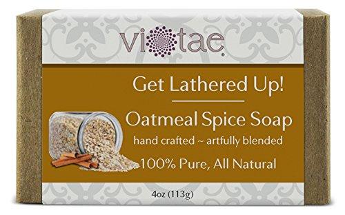 Vi-Tae 100% Natural and Organic Handmade 'Get Lathered Up' 4oz Soap Bars (Goat Milk, 1 pack)