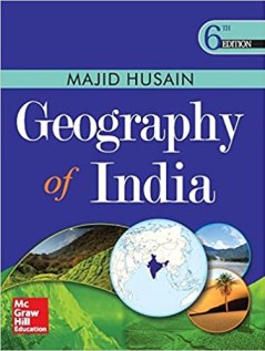 Geography of Indian By Majid Hussain