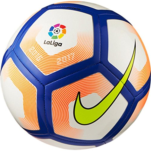 Nike La Liga Pitch Soccer Ball (White/Orange/Purple) (5)
