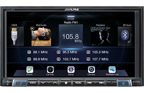 Alpine iLX-207 7-Inch Mech-Less Audio/Video Receiver