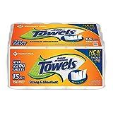 Member's Mark Super Premium Paper Towels (15 rolls, 150 sheets per roll)