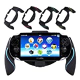 Aweek Bracket Handgrip Handle Grip Case for Playstation Vita 1000 PSVita PS Vita - Blue