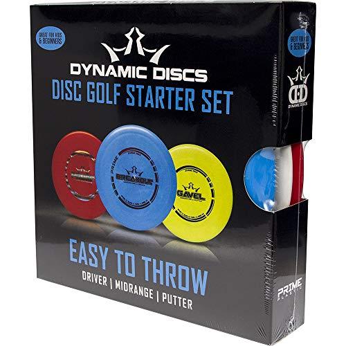 Dynamic Discs Easy to Throw Starter Disc Golf Set
