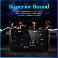 Dasaita-10-inch-Large-Screen-Single-Din-Android-100-Car-Stereo-for-Toyota-Tundra-2007-to-2013-and-Sequoia-2008-to-2018-Radio-with-GPS-Navigation-4G-Ram-64G-ROM-Built-in-DSP-Dash-Kit-GPS-Meomery-Card