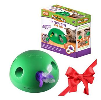 Allstar-Innovations-Pop-N-Play-Interactive-Motion-Cat-Toy-Includes-Electronic-Smart-Random-Moving-Feather-Mouse-Teaser-Mouse-Squeak-Sound-Optional-Auto-Shut-Off-Best-Cat-Toy-Ever