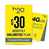 h2o $30/Month Plan - SIM Starter Kit Bundle