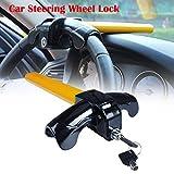 EFORCAR 1 PCS Universal Anti-Theft Car Auto Security Rotary Steering Wheel Lock