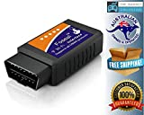 Car WIFI OBD 2 OBD2 OBDII Scan Tool Foseal Scanner Adapter Check Engine Light Diagnostic Tool for iOS & Android
