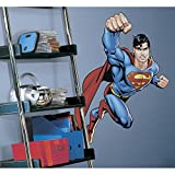 RoomMates Superman Day Of Doom Peel and Stick Giant Wall Decal