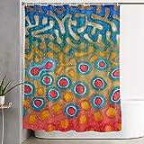 Brad Staplesz Unisex Woman Men's Brook Trout Fly Fishing Theme Stylish Bathroom Shower Curtain Decoration