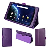 wisers DigiLand DL8006 8' 8-inch Tablet case/Cover, Purple