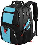 Extra Large Backpack,TSA Laptop Backpacks with Usb Charging Port/Headphones Hole,Water Resistant Big Business College School Bookbag Computer Backpack for Women & Men Fits 17 Inch Laptop