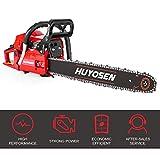 HUYOSEN Gas Power Chain Saws Red...