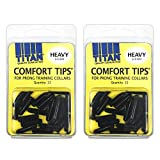 Coastal Pet Titan Comfort Tips for Prong Training Collars | Heavy 3.3mm | 22-Count per Pack (2-Pack)