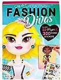 Create Your Own Fashion Divas Children's Sticker Book