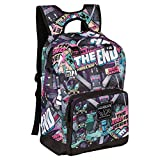 JINX Minecraft Tales from The End Kids School Backpack, Multi-Colored, 17'