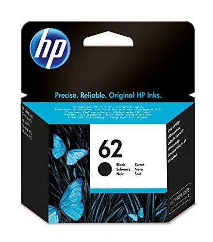HP C2P04AE 62 Original Ink Cartridge, Black, Pack of 1