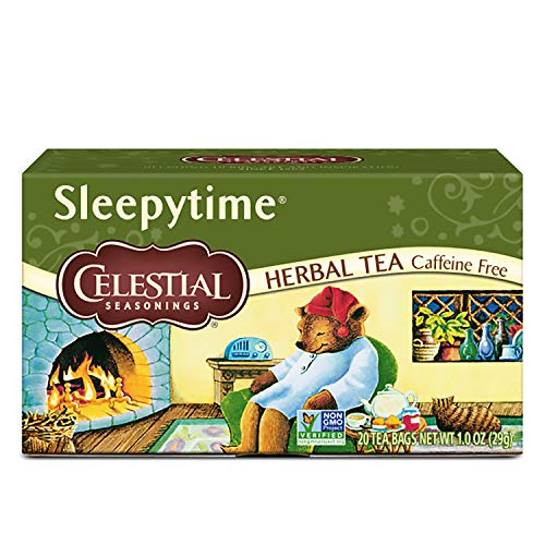 Celestial Seasonings Herbal Tea, Sleepytime, 20 Count (Pack of 6)