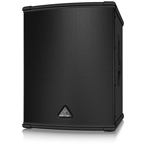 BEHRINGER B1500XP High-Performance Active 3000-Watt Pa Subwoofer with 15' Turbosound Speaker Black