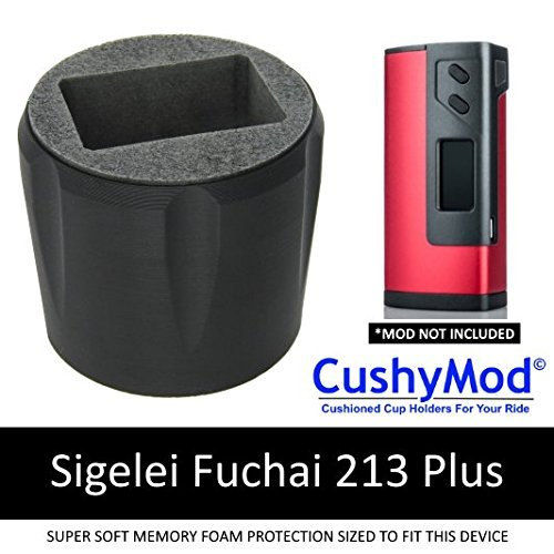 Sigelei Fuchai 213/213 Plus CUP HOLDER by CushyMod cover wrap skin sleeve case car mod vape