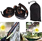 iSKYS Ultimate Atlas Polyester Slap Straps Suspension Hanging System Designed for ENO Hammock Up to 500 Pounds