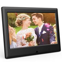 DBPOWER 7 Inch Digital Picture Frame - Upgraded Digital Photo Frame with (16:9) HD IPS Display, Photo/Music/Video Player…