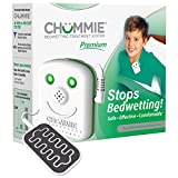 Chummie Premium Bedwetting Alarm for Deep Sleepers - Award Winning, Clinically Proven System with Loud Sounds, Bright Lights and Strong Vibrations, Green