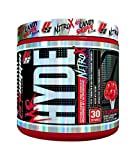 ProSupps Mr. Hyde NitroX Pre-Workout Powder Energy Drink - Intense Sustained Energy, Pumps & Focus with Beta Alanine, Creatine & Nitrosigine, 30 True Servings (Lollipop Punch Flavor)
