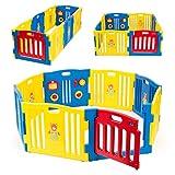 Kidzone Baby Playpen Kids 8...