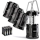 Vont 4 Pack LED Camping Lantern, LED Lantern, Suitable for...