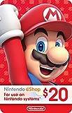 $20 Nintendo eShop Gift Card [Digital Code]
