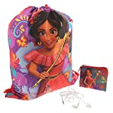 Elena of Avalor Girls Backpack Headphones and Coin Purse Boxed Gift Set (Elena Multi)