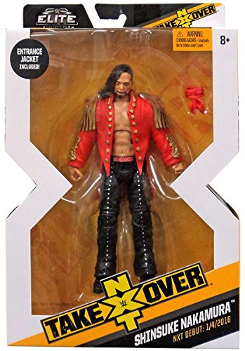 WWE Mattel NXT Takeover Elite Action Figure Shinsuke Nakamura with Entrance Gear