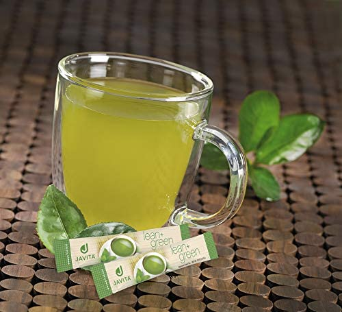 Lean + Green, Premium, 100% Sencha Green Tea, Super Citrimax (Garcinia Cambogia) & Gymnema Sylvestre, for Weight Management, Appetite Control and Sugar Balance 24 ct, Javita 6