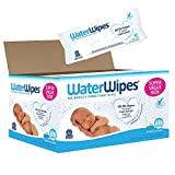 WaterWipes Sensitive Baby Wipes, Unscented, 540Count (9 Pack of 60Count)