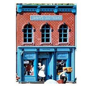 PIKO G SCALE MODEL TRAIN BUILDINGS – JENNY'S CLOTHING – 62204 51oyzbUS5NL