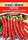 Ferry Morse Long Thin Cayenne Pepper Seeds