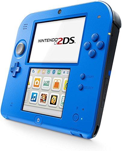 Nintendo 2DS 2 Items BundleNintendo 2DS Electric Blue 2 W Mario