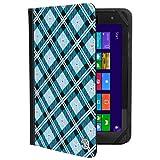 Universal 10.1-Inch Folio Tablet Cover Stand Case Fit Huawei MediaPad M5 / M5 lite / T5 10 & T5 WiFi / M5 Pro/Honor Pad 5 WiFi/Lenovo Tab P10 / M10 / E10 / 10 / Yoga Tab 3 Pro/Apple iPad Pro 11