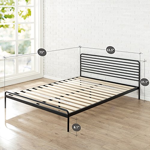 zinus sonnet metal platform bed framemattress foundationno boxspring - No Box Spring Bed Frame