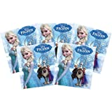 Panini - Disney Frozen Enchanted Moments Sticker Collection - PACKS (5 Pack Lot) (35 Stickers)