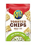 Ritz Toasted Chips, Sour Cream & Onion, 8.1 Ounce, Pack of 6