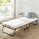 Zinus Roll Away Folding Guest Bed with 4 Inch Comfort Foam Mattress, Narrow Twin / 30' x 75'